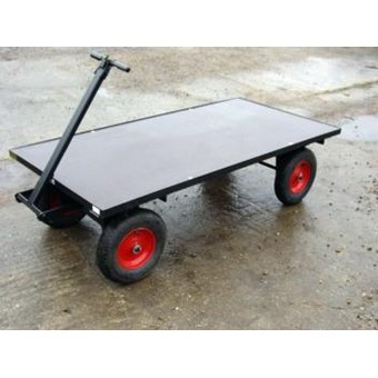 Four Wheel Turn Table Trolley FBT3