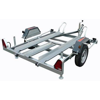 CH751N Motorbike Trailer with 1m Loading Ramp No CH751+SP074