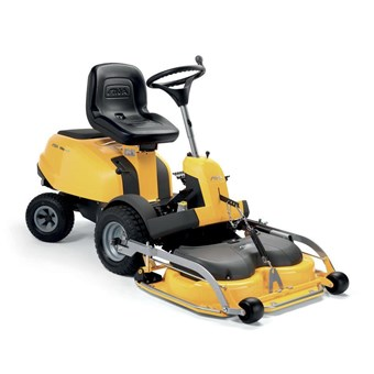 Essential VILLA 15 HST Petrol Front Cut Mower with a 95 cm Combi Cutting Deck