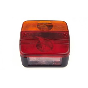 Square Rear Light Standard Light No EL236