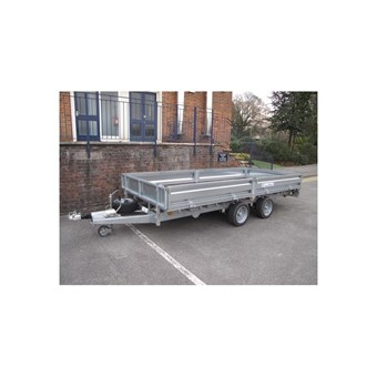 Indespension 16' x 6' Twin Axle Flatbed Trailer (3500kgs) FTL35166