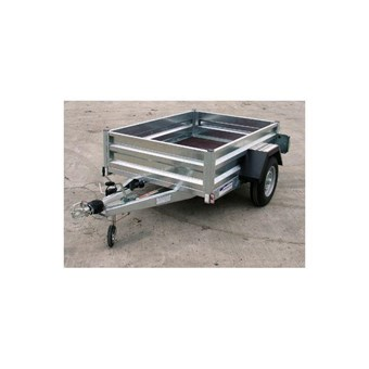 Braked 6' x 4' Single Axled Trailer No GT13064