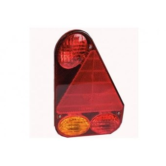 Offside Rectangular Rounded Vertical Plug in Rear Light Cluster No 312