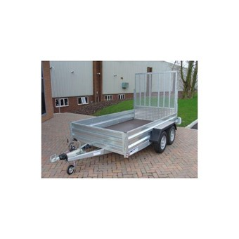 Braked 10' x 5' Twin Axle Trailer No GT26105