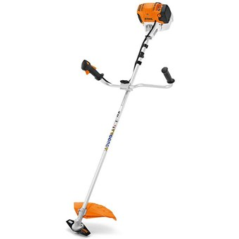 Stihl FS 91 Petrol brushcutter for landscape maintenance with 4-MIX engine and bike handle