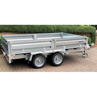 Indespension 10' X 6' TWIN AXLE FLATBED TRAILER (3500KGS) for Hire
