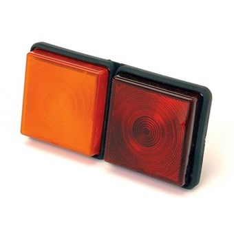 Plastic, Rectangular Rear Combination Light Cluster No EL294