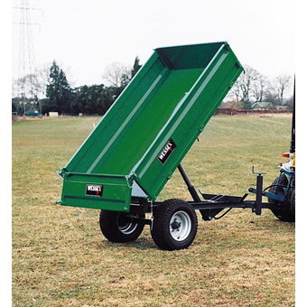 Wessex Hydraulic Tipping Trailer 3 Ton Gross Weight