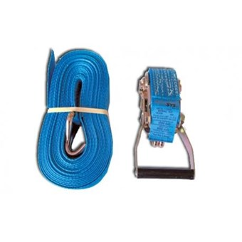 10m Strap Complete with Hooks to Hold 2500kg No LR056