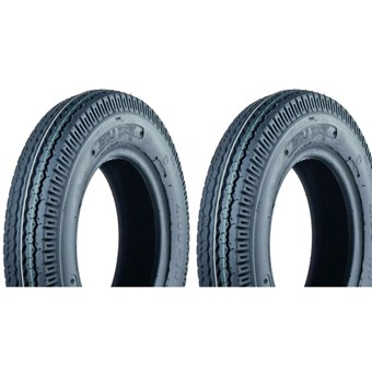 Two Trailer Tyres 6.00-9 (95M) (10PR) Deli S-252 TT No 332581-2