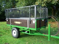 Hydraulic Tipping Trailer - Double Acting Ram HTRL(2)