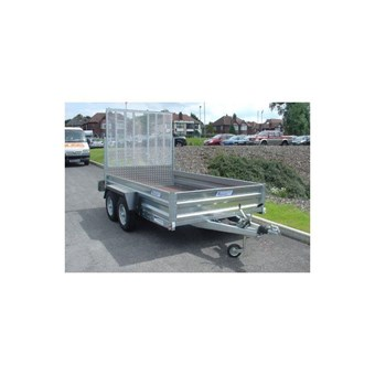 Braked 12' x 6' Twin Axle Trailer No GT26126