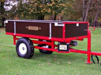 Hydraulic Tipping Trailer -12v Electric HTRL(E)