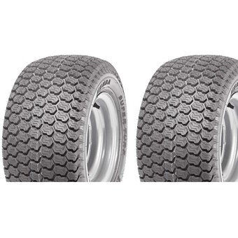 Two Tyres 15x6.00-6 60A4 (4PR) Kenda K500 Super Turf (K-Shield) TL No 300481-2
