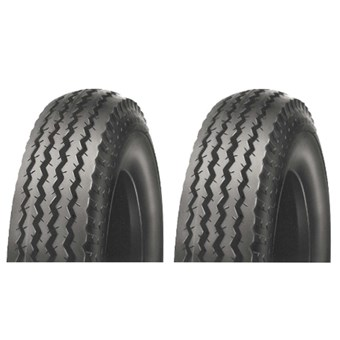 Two Tyres & Tubes SE 4.80/4.00-8 70M (6PR) Set E TR13 Kenda K371 No 497938-2