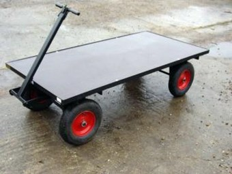 Four Wheel Turn Table Trolley FBT2