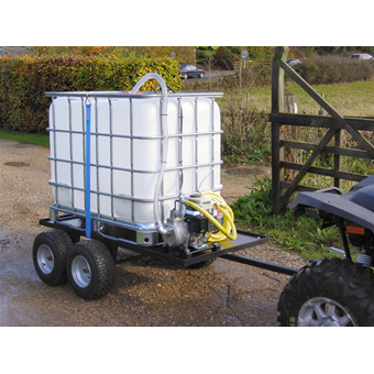 SCH 600 Litre 4 Wheeled Towed Water Unit c/w Electric Pump (WC(P)