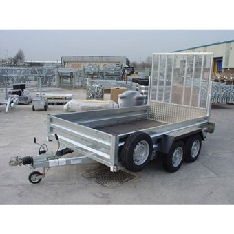 Braked 10' x 6' Twin Axle Trailer No GT26106