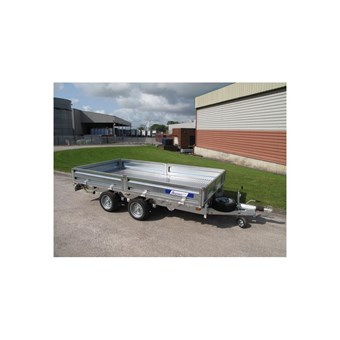 Indespension New 10' x 6' Twin Axle Flatbed Trailer (3500kgs) FTL35106
