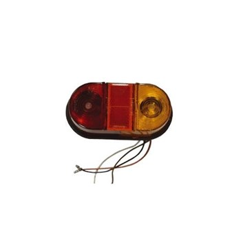 Oval Rubber Rear Standard Light EL007