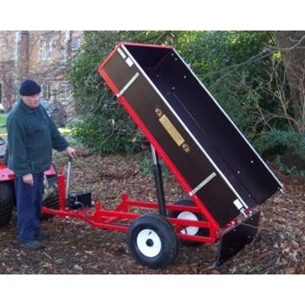Hydraulic Tipping Trailer - Manual HTRL(M)