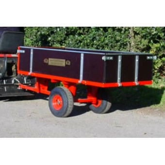 2 Wheel Timber Tipping Trailer GWTS10