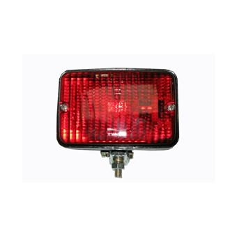 Red Plastic Swivel Fitted Fog Light No EL567