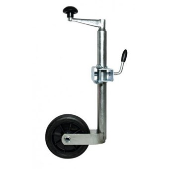 34mm Jockey Wheel with Clamp and Solid Wheel No JW011
