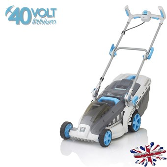 Swift 40v Wide+ Lithium Battery 37cm Lawn mower STAR BUY***** £249.99