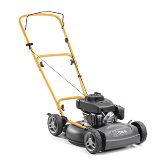 Stiga Multiclip 47 Blue 45cm Hand Propelled Lawnmower