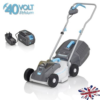 Swift 40v Compact Lithium Battery 32cm Lawn mower STAR BUY***** £169.99