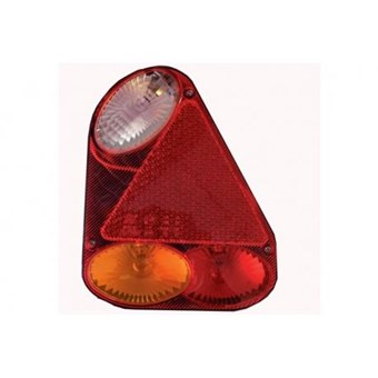Nearside Triangular Rounded Vertical Plug in Rear Light Cluster. UK Spec. No EL271