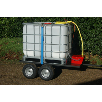 SCH 600 Litre 4 Wheeled Towed Water Unit C/W Electric Pump (WC(E)