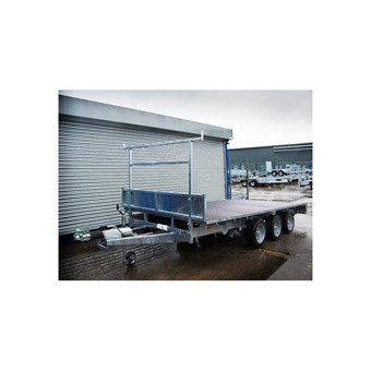 Indespension 14' x 6' TRI Axle Flatbed Trailer (3500kgs) FTL35146TRI