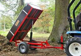 Hydraulic Tipping Trailer - Single Acting Ram HTRL(1)