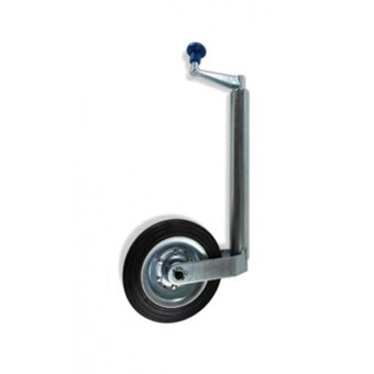 42mm Jockey Wheel with Solid Rubber wheel No JW012
