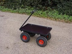 Four Wheel Turn Table Trolley FBT1