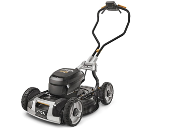 Stiga Model 1 - The Most Advanced Battery Lawnmower in the Industry
