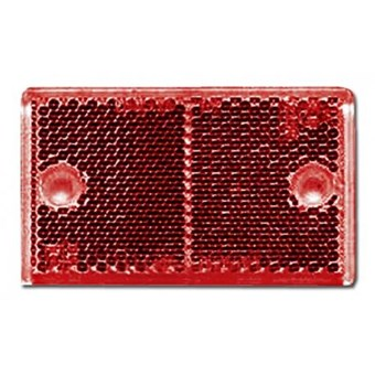 Rectangular Rear Red Reflector No EL453