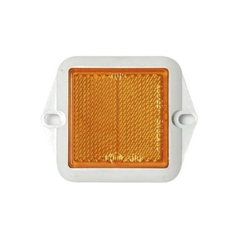 Square Orange Screw in Reflector No EL039