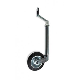 42mm Jockey Wheel with Solid Rubber Wheel No JW004