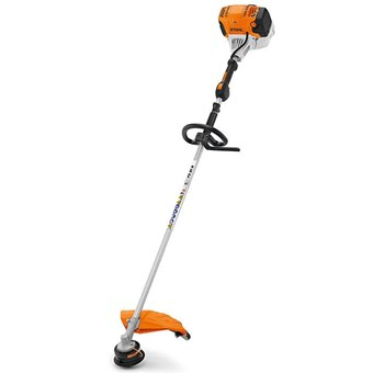 Stihl FS 91 R Petrol brushcutter for landscape maintenance with 4-MIX® engine and loop handle