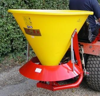 Powered Fertiliser Broadcaster - 250 litre PBS250