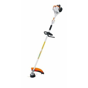 Stihl FS 55 R Entry level straight shaft brushcutter with loop handle.