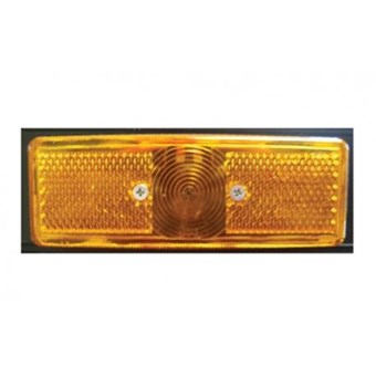 Orange Plastic Surface Mounted Side Marker No EL537