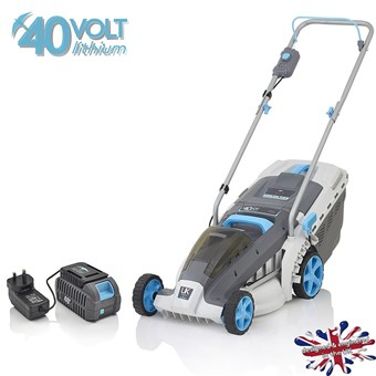 Swift 40v Wide Lithium Battery 37cm Lawn mower STAR BUY***** £219.99