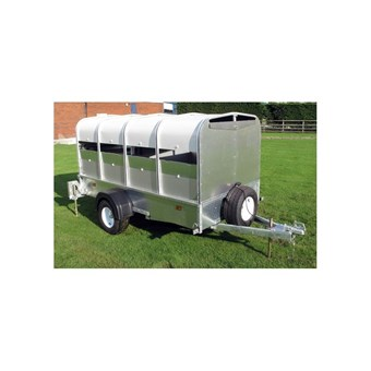 Indespension 8' x 4' Unbraked Pig and Sheep Trailer (750kgs) LT075584