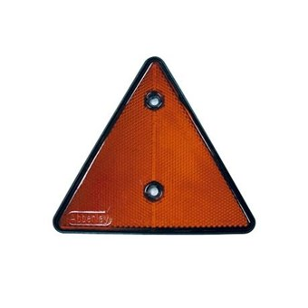 Reflector Red Screw in Triangle No EL037