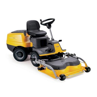 Essential PARK 120 Petrol Front Cut Mower with a 85cm Combi QF Cutter Deck