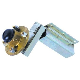 Indespension 350kg Extended Stub Axle, Unbraked Suspension Unit Complete With HU004 No SH007